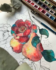 """Dooroley_art АКВАРЕЛЬ ГРАФИКА on Instagram: """"3 способа добавить сказочности вашему арту 💫 Я уже писала похожий пост когда-то, но вопросов: - Как получается так сказочно? меньше не…"""" Watercolor Art, Moose Art, Animals, Animales, Watercolor Painting, Animaux, Animal, Watercolour, Animais"""