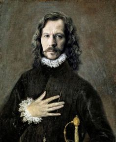 Renaissance Portraits of Famous Celebs -Gary Oldman Renaissance Portraits, Renaissance Era, Renaissance Paintings, Renaissance Costume, Gary Oldman, Remus Lupin, Face Replace, Funny Celebrity Pics, Bloom Book