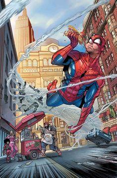 Peter Parker Spectacular Spider-Man Annual #1 by Javier Garrón