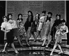 Pachucas. Photo from the original production of Zoot Suit.