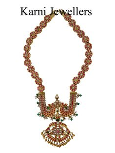 Antique South Indian Necklace or Temple Jewelry