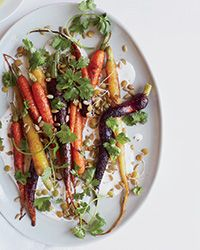 Roasted Carrots with Caraway and Coriander Recipe on Food & Wine
