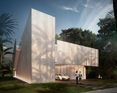 located in miami beach, this property designed by sordo madaleno arquitectos is positioned between a golf club and a protected area of natural land. Miami Beach, Miami Houses, Beach Wrap, Property Design, North America, Skyscraper, Arch, Multi Story Building, Small Houses