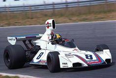 José Carlos Pace (BRA) (Martini Brabham), Brabham BT44B Zandvoort, 1975.