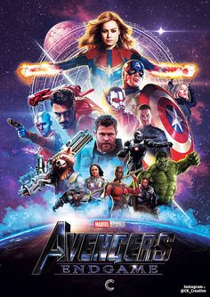 2019 Avengers Endgame Movie Poster Silk Art Print 12x18 32x48