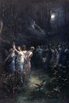 Gustave Doré    A Midsummer Night's Dream