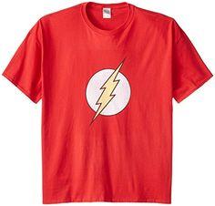 DC Comics Men's Big-Tall The Flash Distressed Logo T-Shirt - http://bandshirts.org/product/dc-comics-mens-big-tall-the-flash-distressed-logo-t-shirt/