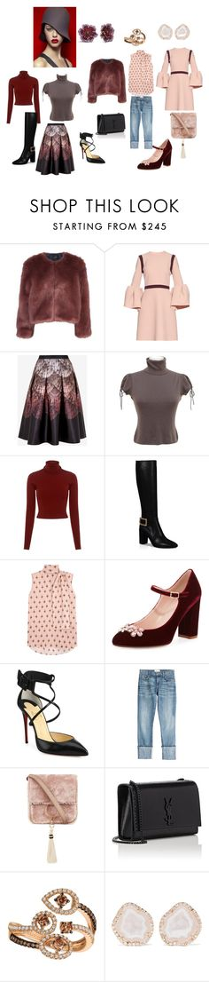 Weekend in the City... by stacy-williams-white on Polyvore featuring Roksanda, Valentino, A.L.C., Chanel, Stine Goya, Ted Baker, Current/Elliott, Roger Vivier, Christian Louboutin and Kate Spade