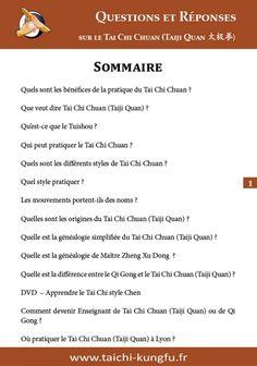 PDF Image-FAQ-Tai-Chi-Chuan-Questions-Reponses-Taichi-Taiji-Quan-Chen-Yang-Sun-Wu-Lyon Kung Fu, Lyon, Tai Chi Chuan, Health Fitness, Pdf, This Or That Questions, Image, Fitness, Health And Fitness