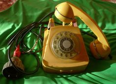 Vintage Soviet Union USSR Ship Disc Cabin Phone TAK-64 - rotary telephone