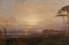 Italian Landscape, 1917, Douglas Arthur Teed
