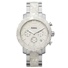Fossil Ladies Natalie Two Tone Stainless Steel Watch #fossil #watch #clearance