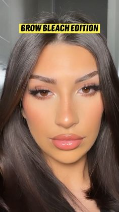 Contour Makeup, Eyebrow Makeup, Eyeshadow Makeup, Hair Makeup, Model Makeup Tutorial, Smoky Eye Makeup Tutorial, Cute Eye Makeup, Makeup Looks, Flawless Beauty