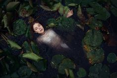 Gorgeous Fine Art Beauty Portraits by Katja Kemnitz #inspiration #photography