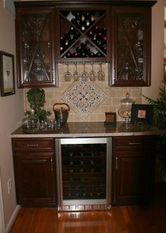 Perfect way to modify the cabinets I already have built in by the fireplace!