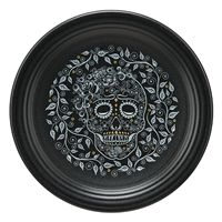 Premium Glossy Round 3D Epoxy Domed Decal Indoor /& Outdoor Skull /& Bone Ghost