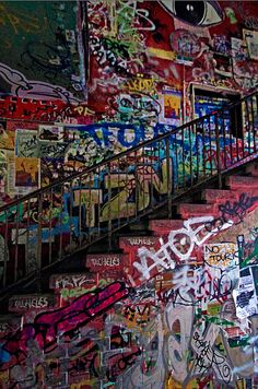 Tacheles - Berlin by Andres Ghiorzo, via Flickr