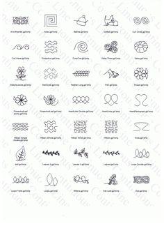Machine Quilting Designs Patterns