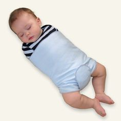 The SwaddleBuddy Suit is the perfect Swaddle to be used in conjunction with our Baby Sleep Wedges.  Soothe your colicky or Reflux Baby using the SwaddleBuddy Suit and one of AR Pillows Wedges for Acid Reflux.  The SwaddleBuddy is as perfect for use with the Tucker Sling.  Made of 1005 COTTON .  Comes it 2 sizes Small (up to 15 lbs) or Large (15 lbs and up) Three colors: Blue, Pink and Green,  View the video to see all the ways your baby can be wrapped in the versitile swaddler.