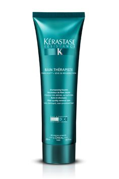 Kérastase Resistance Bain Therapiste - BEST Cleanser for colored, dry and curly hair - EVER!