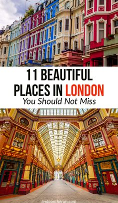 11 Beautiful Places in London You Should Not Miss Backpacking Europe, Europe Travel Tips, European Travel, Places To Travel, Overseas Travel, London What To See, Things To Do In London, World Beautiful City, Beautiful Places