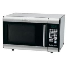Cuisinart, 1.0 cu. ft. Countertop Microwave in Stainless Steel, CMW-100 at The Home Depot - Mobile