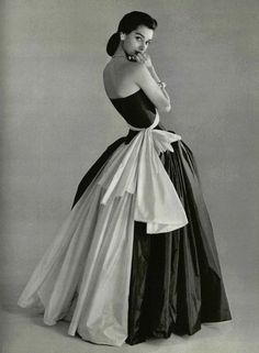 I don't wear dresses, tammy17tummy: 1956, Grès Photographer Philippe...