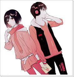 Eren x Mikasa ( ノ^ω^)ノ゚