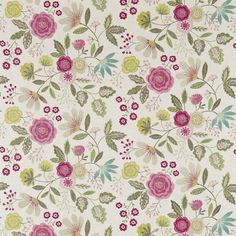 Harlequin - Designer Fabrics and Wallcoverings | Products | Caspia (HJAR120266) | Jardin Boheme Fabrics