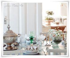Antiek zilver #silver #table