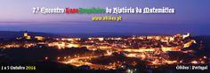 Série 7.º Encontro Int. Matemática  (ensaios - 6) Vila de Óbidos