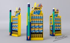 https://www.behance.net/gallery/35912893/Bic-pens-stand