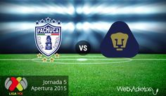 Pachuca vs Pumas, Jornada 5 del Apertura 2015 ¡En vivo por internet! - http://webadictos.com/2015/08/15/pachuca-vs-pumas-apertura-2015/?utm_source=PN&utm_medium=Pinterest&utm_campaign=PN%2Bposts