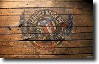 Fond d'écran Harley Davidson casque moto, crâne, nombre #1, ailes aigle