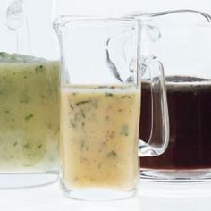 lemon-mint vinaigrette dressing: would use a little less mustard than the recipe calls for but not bad