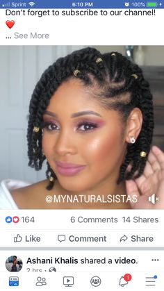 She Used Flat Twists To Create Fabulous Summer Curls On Short Natural Hair Flat twist updo Short Box Braids Hairstyles, Flat Twist Hairstyles, Natural Braided Hairstyles, Natural Hair Braids, Braids For Short Hair, African Braids Hairstyles, Dreadlock Hairstyles, Black Hairstyles, Braided Updo
