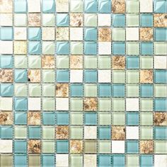 blue color crystal glass mixed sea shell mosaic HMGM1148 for kitchen backsplash tile bathroom shower hallway wall mosaic-in Wall Stickers from Home & Garden on Aliexpress.com | Alibaba Group