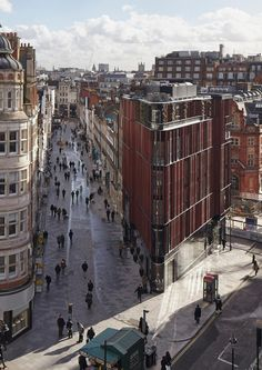 The South Molton Street Building  by DSDHA as Architects