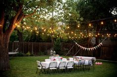 Back Yard Birthday Party Ideas For Adults