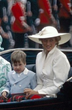 Queen Diana & Prince William