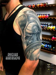 Tattoo Anzhelika Kartasheva - tattoo's photo In the style Realistic, Male, Warrio