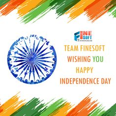 FineSoft Technologies wishing you a very Happy Independence Day!!