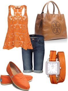 LOLO Moda: orange style lbv