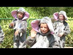 Sloník Toník - Cvičíme s Míšou 4 (pišničky pro děti) - YouTube