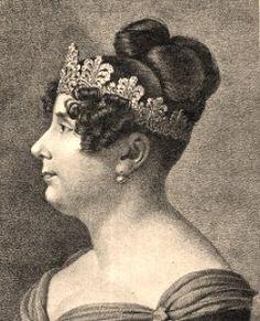 """""""Désirée Clary at Mortefontaine"""" by François Pascal Simon Gérard (Rome 1770 - Paris 1837).            """"Queen Desideria""""...."""