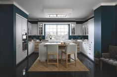 """Discover our shaker kitchen """"Country Classic"""" and design your custom rustic kitchen. With Schmidt, a bespoke kitchen is no longer a luxury."""