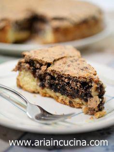 Torta in crosta di mandorle