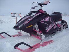 ArcticFX Graphics wrap on a Ski-Doo Rev