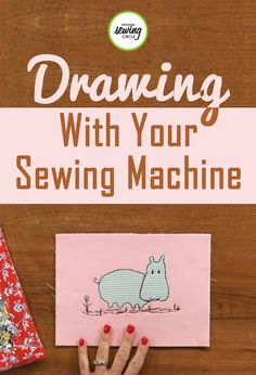 If you like using your creative side when sewing, free motion drawing is a great project for you! Jackie Pacitti discusses drawing with your sewing machine and showcases some of her own sewing designs in this video. She provides step-by-step instructions on how to incorporate free motion drawing into your next sewing project for a unique and fun outcome.