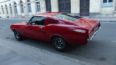 Red 1968 Ford Mustang Fastback in Budapest Dream Auto, Dream Cars, 1968 Ford Mustang Fastback, 6 Photos, Budapest, Website, Awesome, Red, Be Awesome